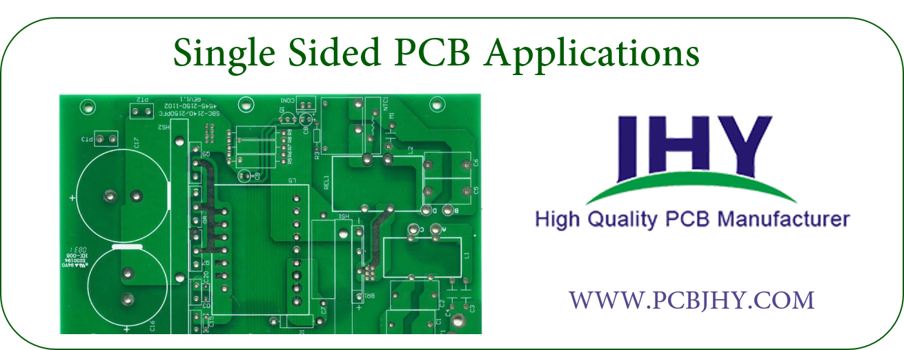 Single Sided PCB Applications | JHYPCB