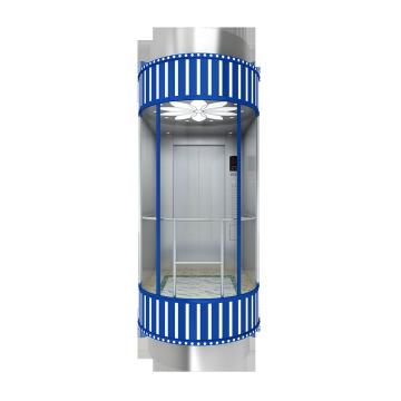 Maschine maschinenraumlosen Panorama-Lift