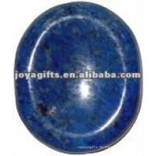 Lapis Lazuli Sorge Stein Daumen