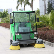 Hot Sale Battery Powered Electric Steet Sweeping Vehicle with Big Brush (DQS18A)