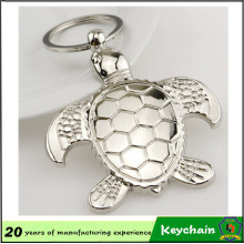 Chaveiro dado forma animal direto da fábrica do animal de estimação da tartaruga do metal 3D Directholder