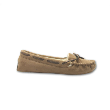 winter fluffy moccasins for womens