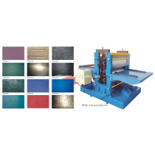 metal plate embossing machine