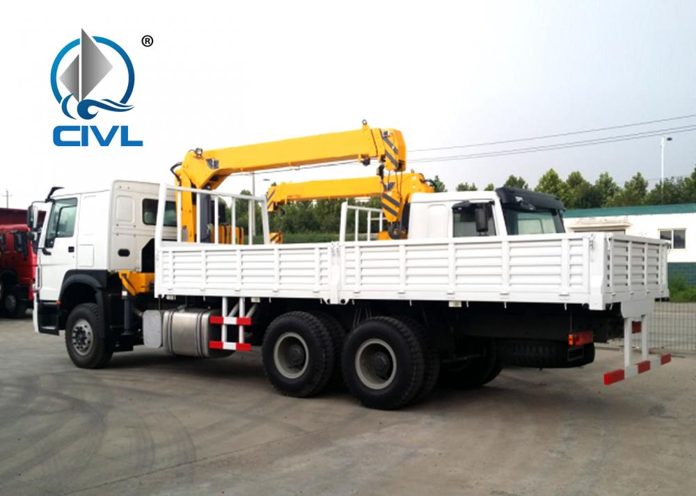 30tons Truck With Crane 2
