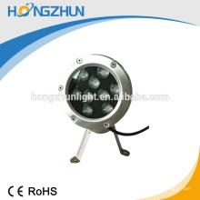 El mejor precio China manufaturer rgb llevó la piscina la lámpara subacuática IP68 pfo.95 CE ROHS aprobó