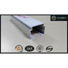 Vertikale Blindkopfschiene aus Aluminiumprofil mit weißer Höhe von 32 mm