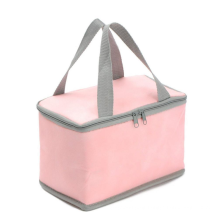 china supplier custom recycled non woven insulated cooler bag big ice bag with aluminum film for froze food and lunch
