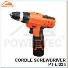 Powertec 10mm 12V Li-ion Cordless Drill with LED Light (PT-LI035)