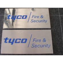 Custom Indoor Stainless Steel Sign Board Display (ID-16)