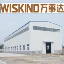 Hangar à structure en acier à longue portée