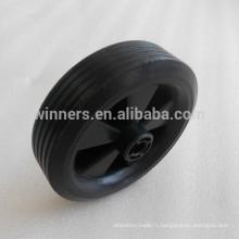 4,5 pouces petite roue en plastique / roue de chariot / roue en caoutchouc solide
