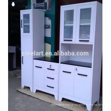 armários de cozinha de metal branco na venda de kerala