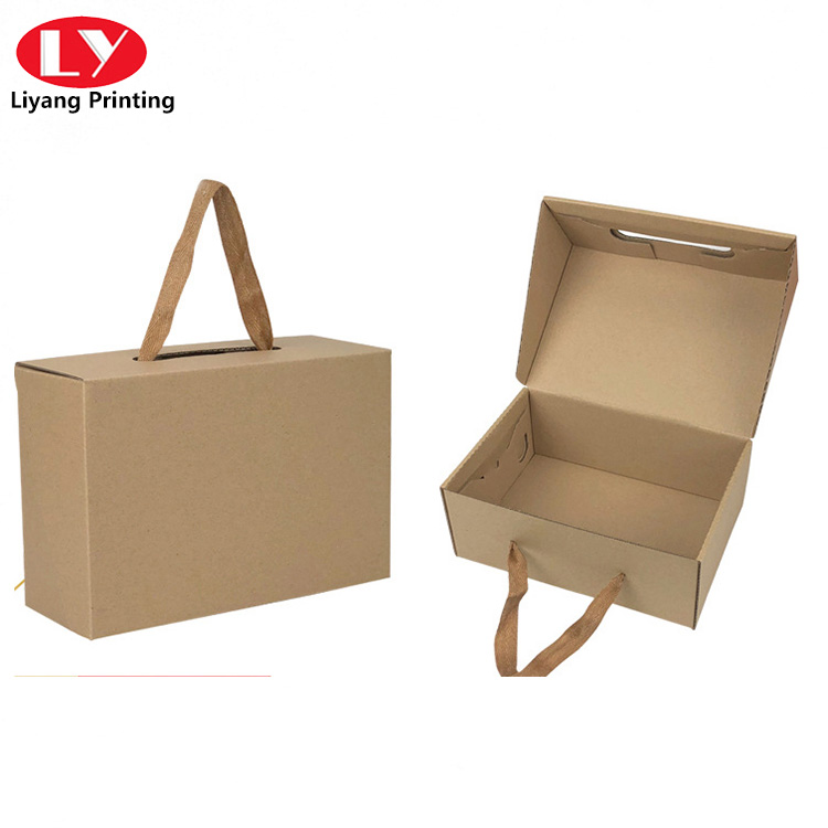 Shoe Packaging Box with String