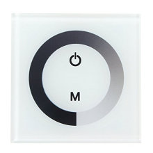 Touch Panel Dimmer Wall Mounted Switch Sensitive Controller for Single Color LED Strip Light