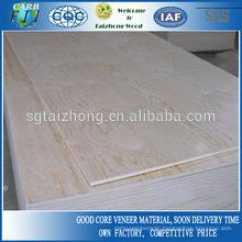 Okoume/Bintangor/Birch/Pine plywood
