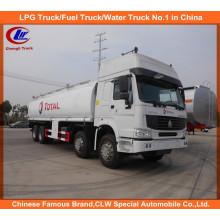 Caminhão-tanque de armazenamento de combustível HOWO Heavy Duty 30cbm