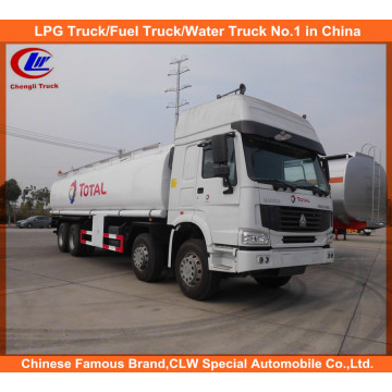 Heavy Duty HOWO Fuel Storage Tank Truck 30cbm