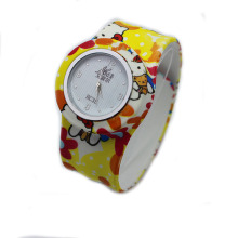 power silicone digital slap watch