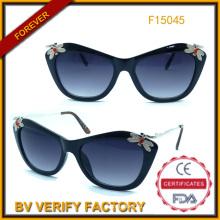 Солнцезащитные очки 2015 модные солнцезащитные очки с отделкой (F15045)
