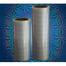 Película de laminação térmica holográfica BOPP (holográfica de cor verdadeira 3D)