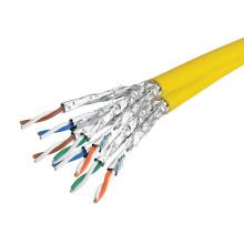 Diseño a medida 1000 pies cat7 sstp cable sólido de PVC