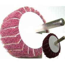 Roda de aba Oxideabrasive SATC Alumina com eixo de alta qualidade e bom preço