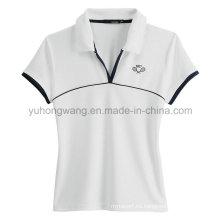 La camiseta impresa de los hombres al por mayor del algodón, camisa de polo