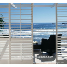 European exterior aluminum plantation shutter for window