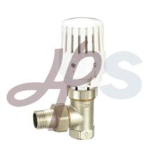 латунь термостатический радиаторный клапан типа угол