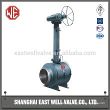 Carbon steel welding ball valve