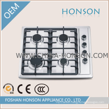 Household Appliance Stainless Steel Gas Cooker Gas Hob