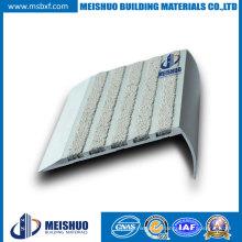 Aluminum Base Abrasive Carborundum Outdoor Step Anti Slip Nosings for Footbridges Safety