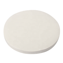 Papel manteiga redondo de 34 cm papel absorvente de óleo de churrasco no atacado