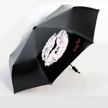 A17 paraguas plegable del paraguas del paraguas del cambio del color del paraguas 5 veces