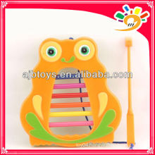 Colorful Kids Cartoon Owl Organ Toy Musical Instrument Set Toy For Sale
