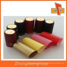 Recurso não-recarregável e plástico, pvc Material heat shrink bottle cap