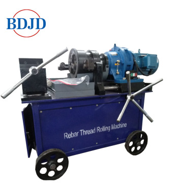 Hot sale baja threading rebar mesin rolling benang