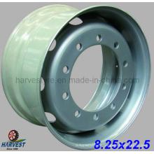 8,25 x 22,5 Tubeless Truck Tire Steel Wheels