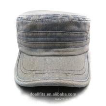 100% Baumwolle für Cowboy Material Army Cap gute Qualität in China gemacht