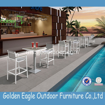 Set Wicker Garden Furniture Outdoor Bar Set