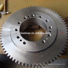 High Rotating Speed slewing ring design for komatsu spare parts