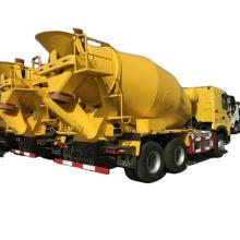 sinotruk  howo 336hp 6 cubic meter concrete mixer truck