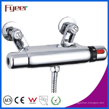 Fyeer robinet de douche thermostatique mural de contrôle de température (qh0204)