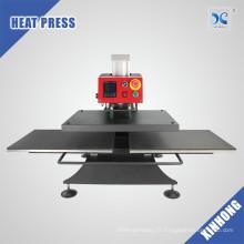 Xinhong Double station de travail pneumatique machine à presser la chaleur pour t-shirt