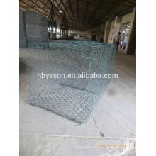 De Buena Calidad Galvanizado / PVC Cobre Gabion Box Wire Mesh (Fábrica)