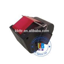 Cartouche de ruban pour imprimante à encre Frama rouge fluorescent compatible