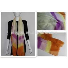 polyester stripe long big scarves