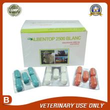 Médicaments vétérinaires du Bolus Albendazole 2500mg