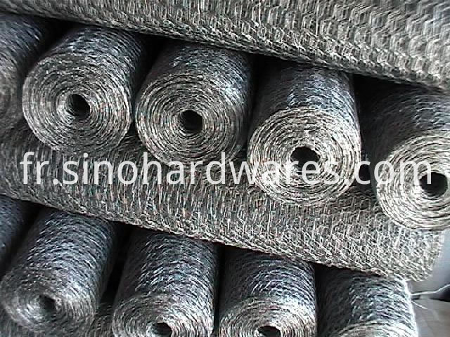galvanized hexagonal mesh