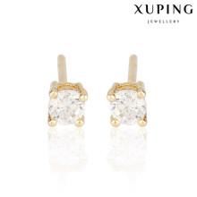 23550 Xuping plaqué or boucles d'oreilles pour les femmes, boucles d'oreilles pour les femmes khazana bijoux